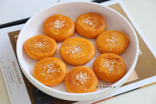 红薯榴莲芝士饼怎么煸