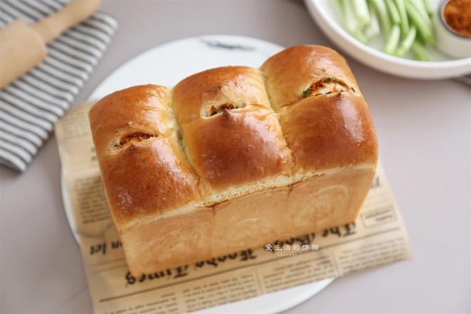 香葱肉松面包怎样煮