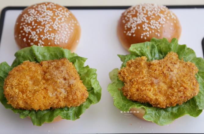 猪排包汉堡怎样做