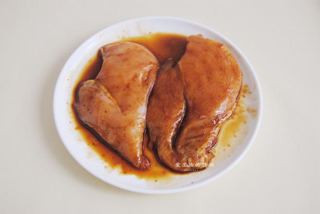 鸡排咖喱意面的家常做法