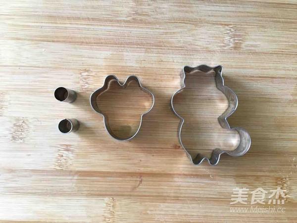 超级容易上手的松鼠饼干 六一快乐的家常做法