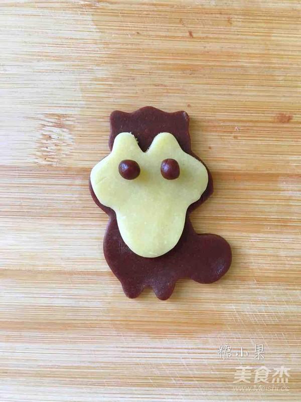 超级容易上手的松鼠饼干 六一快乐怎么吃