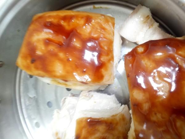 梅菜香芋扣肉的做法图解