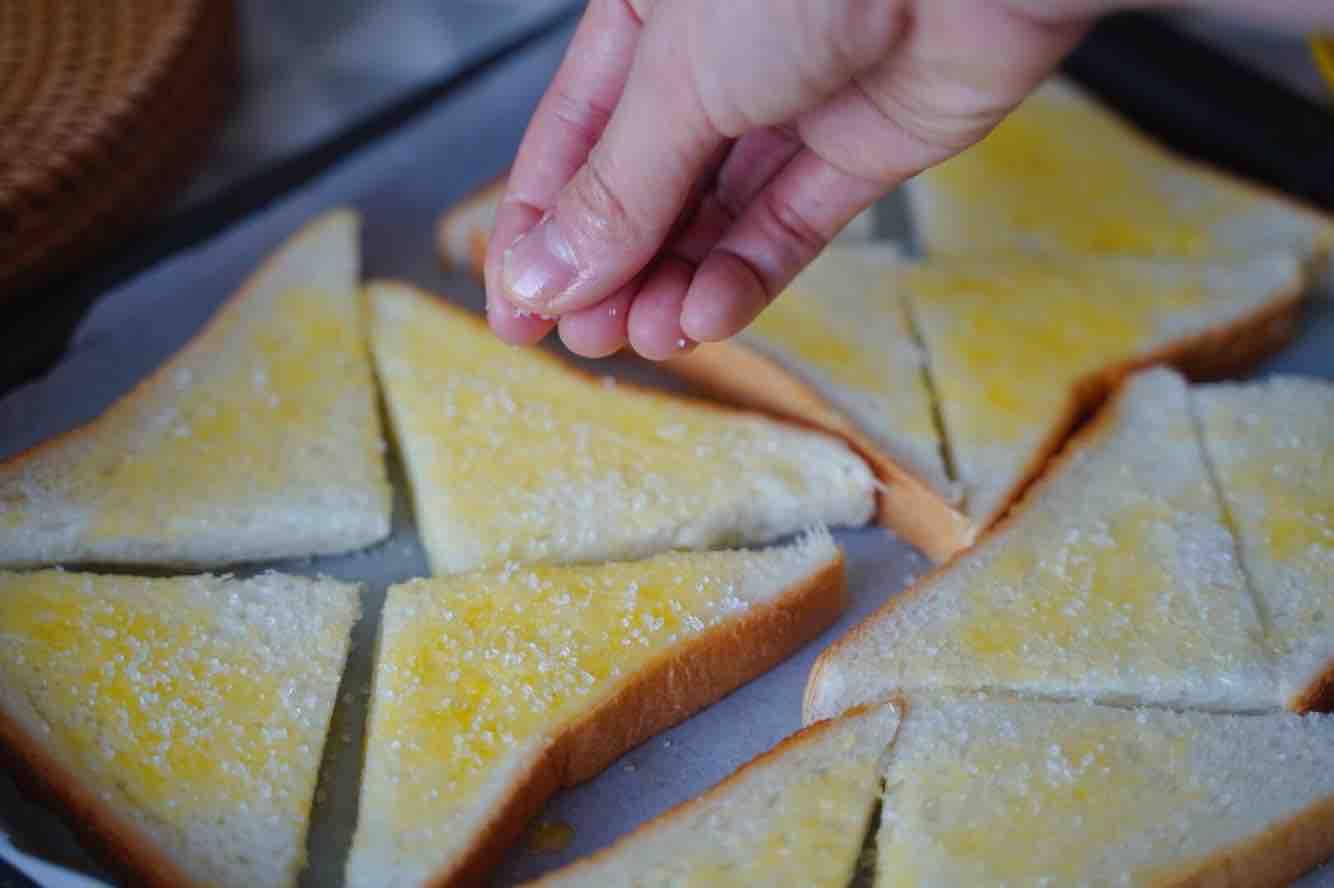 香酥蜂蜜吐司的简单做法