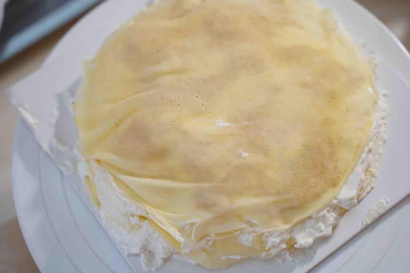 榴莲千层蛋糕怎么做