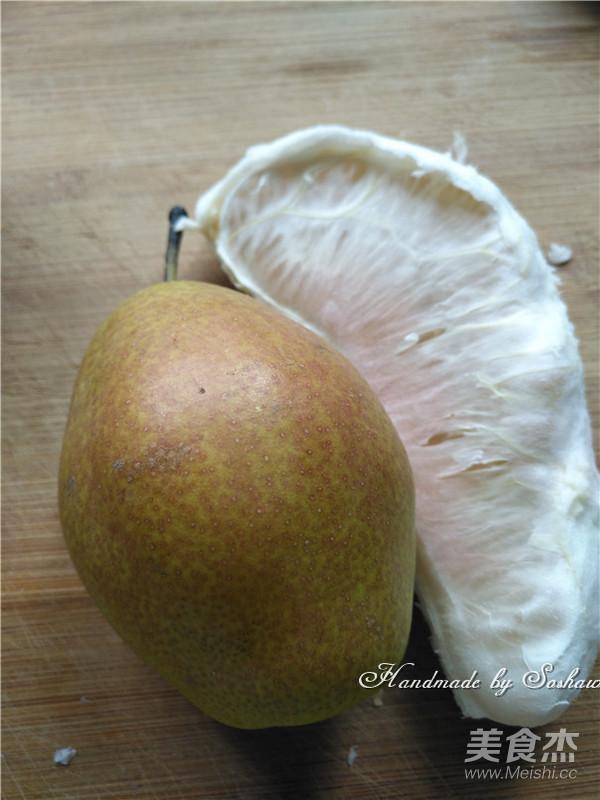 香梨柚子甜汤的做法图解