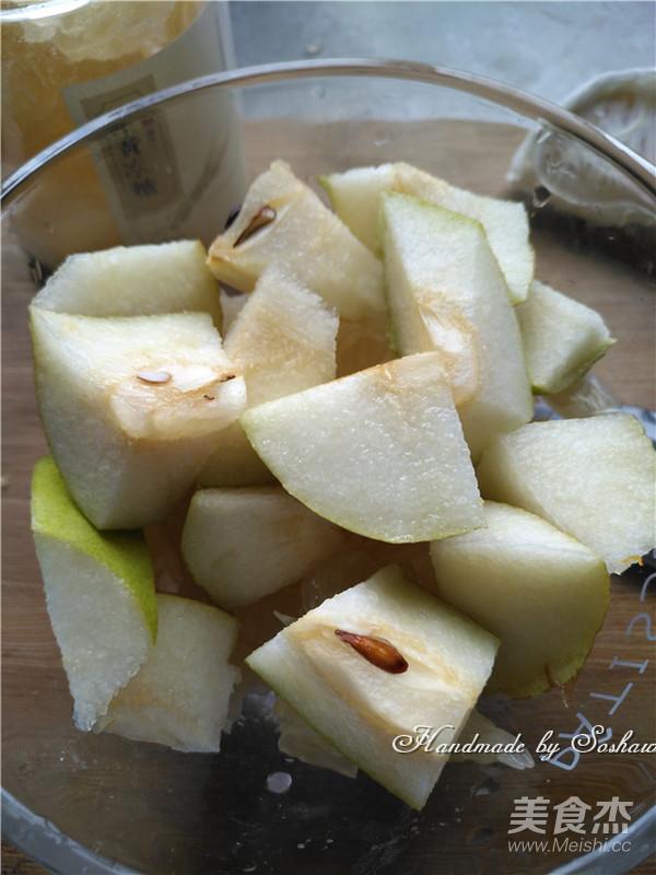 香梨柚子甜汤的简单做法