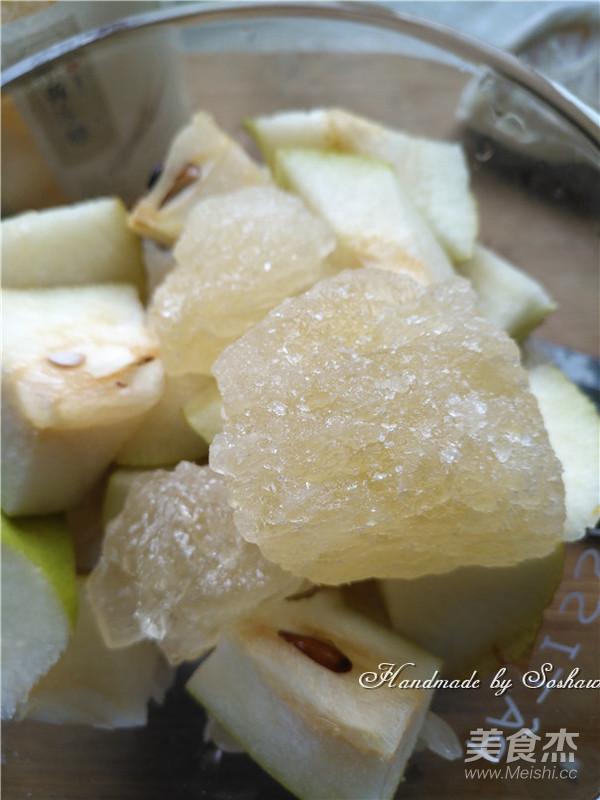 香梨柚子甜汤怎么吃