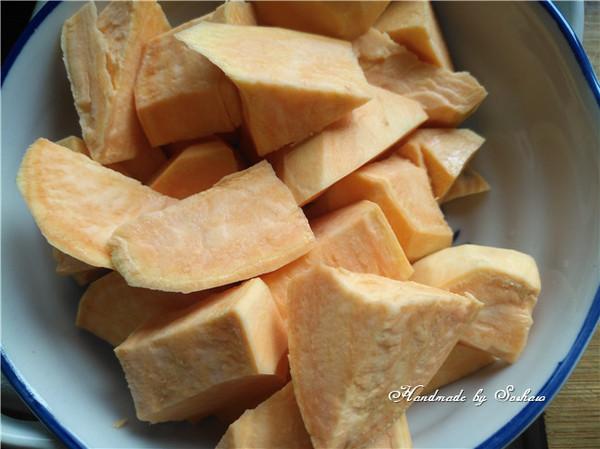 姜汁红薯小圆子的做法大全
