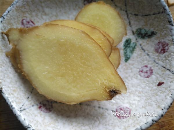 姜汁红薯小圆子的做法图解