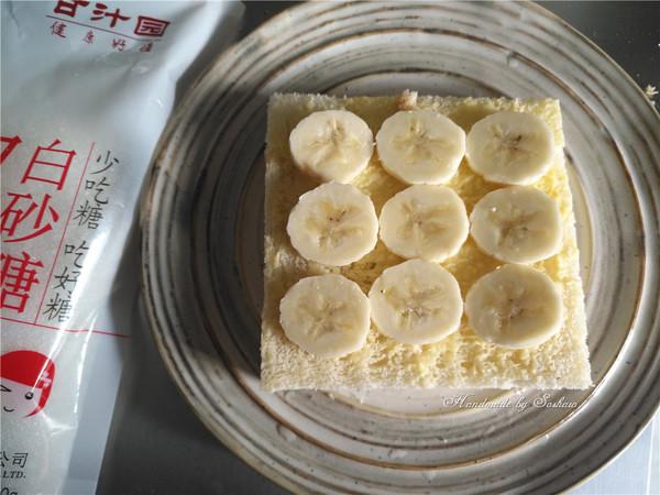 枫糖香蕉吐司片的家常做法