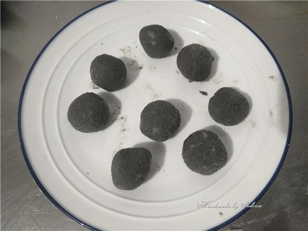 南瓜芝麻汤圆的简单做法
