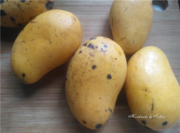 芒果椰汁西米露的做法图解