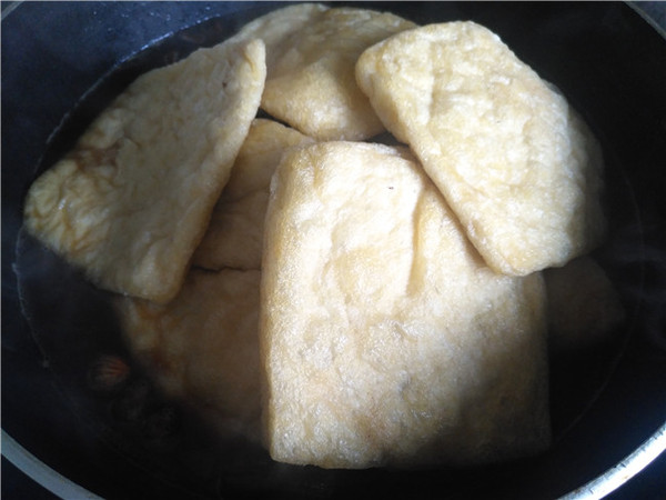 卤油豆腐干的简单做法