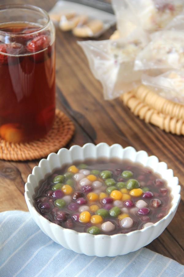 抹茶园子芋圆红豆汤怎么煸