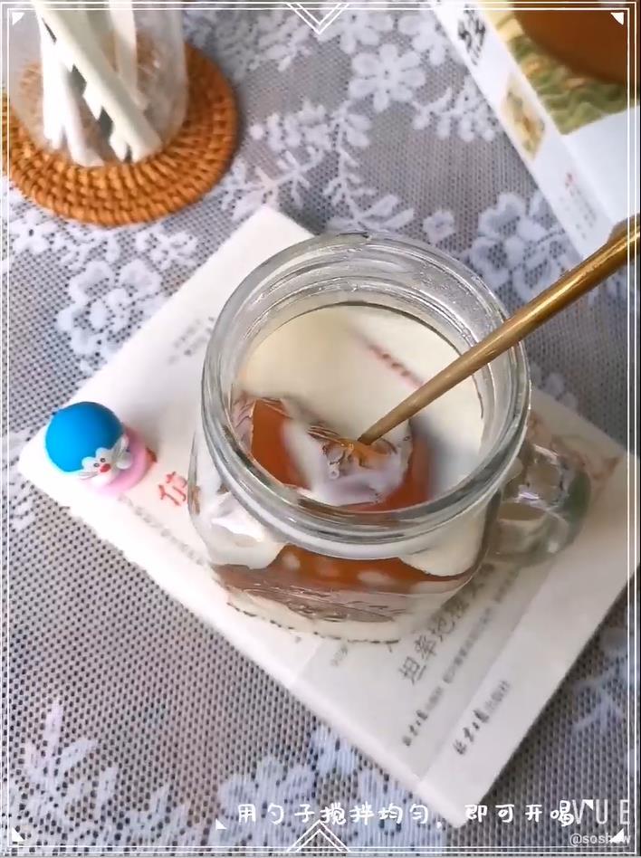 柠檬红茶冻撞奶怎么炖