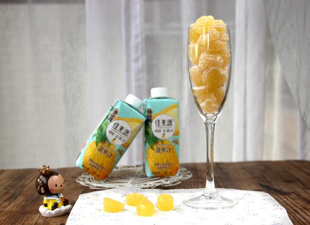 菠萝汁法式软糖怎样做