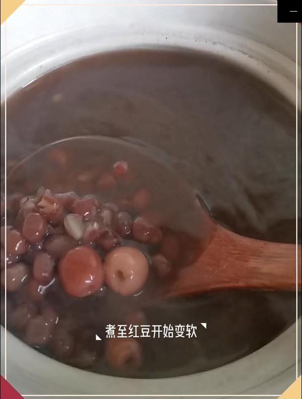 百合莲子红豆汤怎么炒