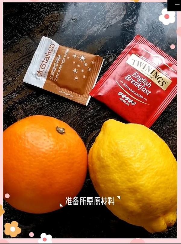 柠檬鲜橙茶的做法大全