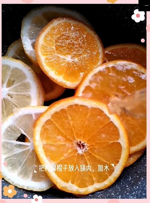 柠檬鲜橙茶怎么吃