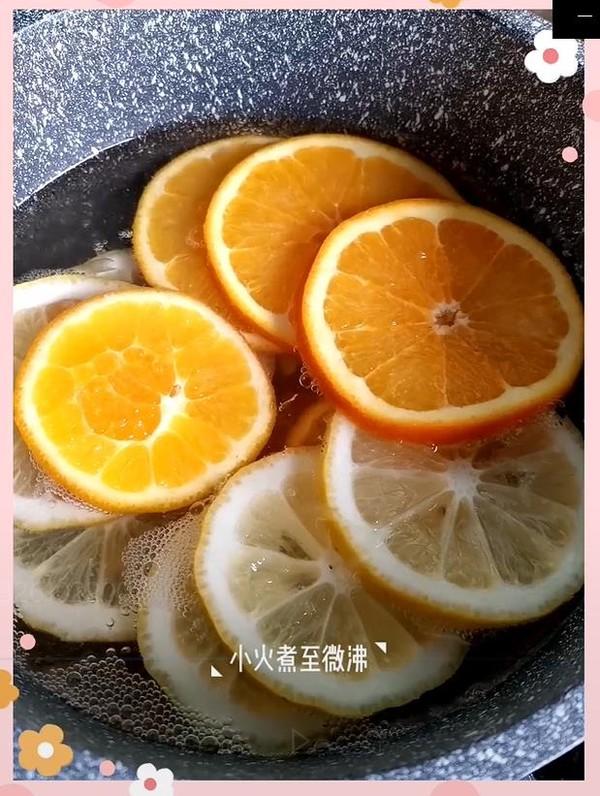 柠檬鲜橙茶怎么做