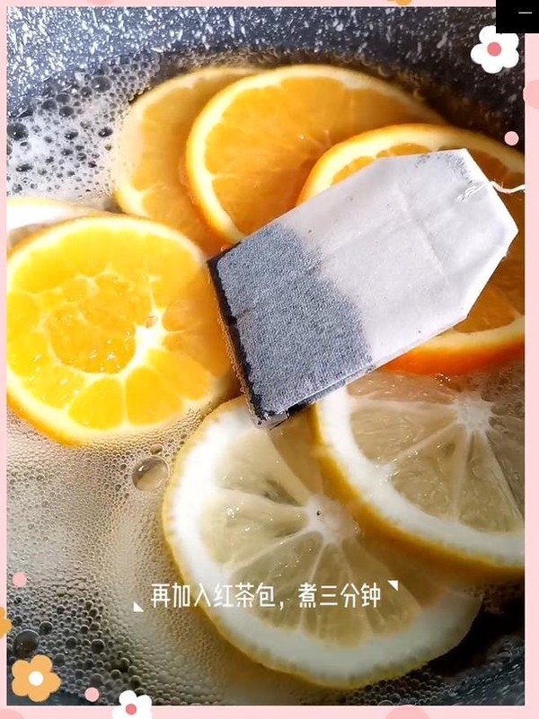 柠檬鲜橙茶怎么炒