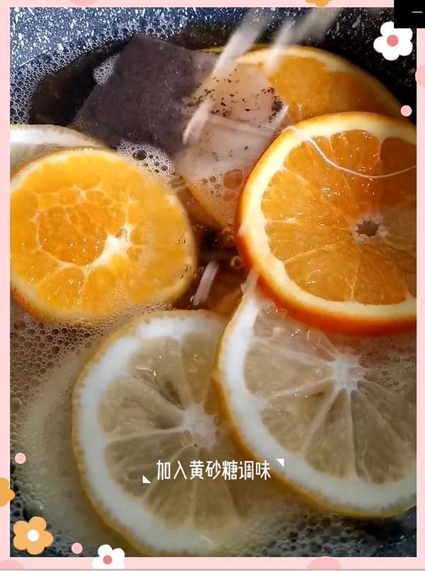柠檬鲜橙茶怎么煮
