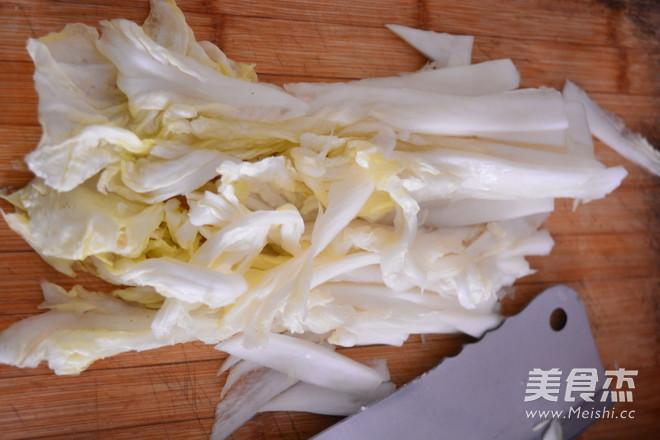 不用糯米粉的辣白菜的家常做法
