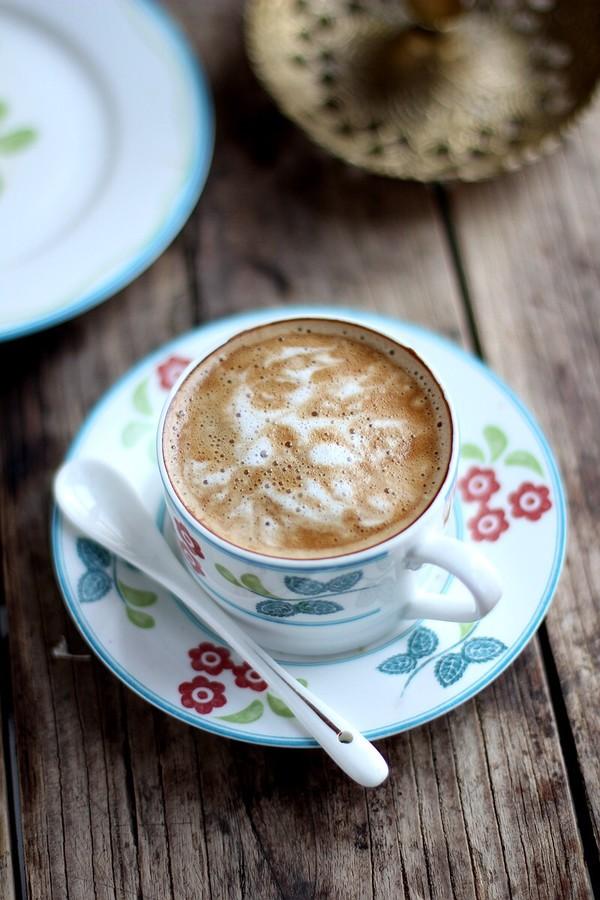 意式咖啡成品图