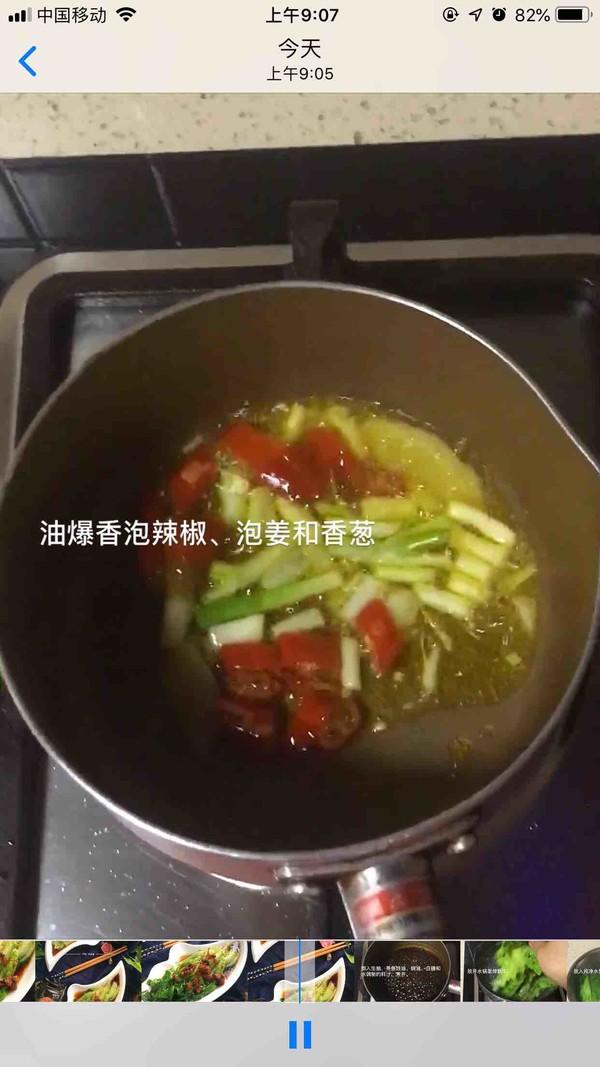 鲍鱼干贝白灼生菜的做法大全
