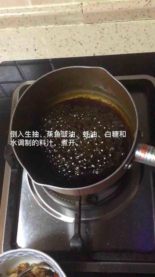 鲍鱼干贝白灼生菜的做法图解