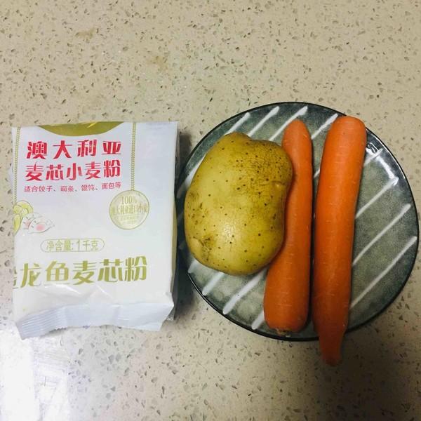 粉蒸胡萝卜土豆丝的做法大全