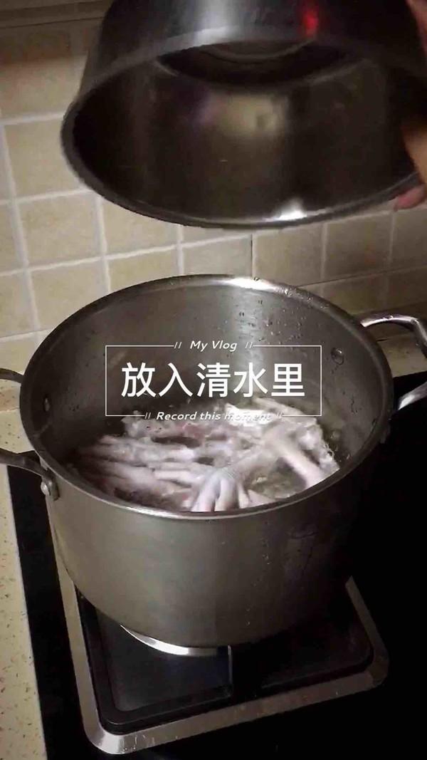 卤水鸡爪的家常做法