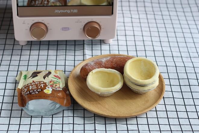 红肠蛋挞的做法大全