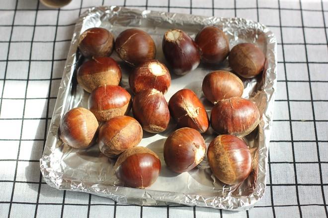 烤栗子的家常做法