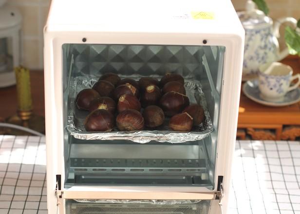 烤栗子的简单做法