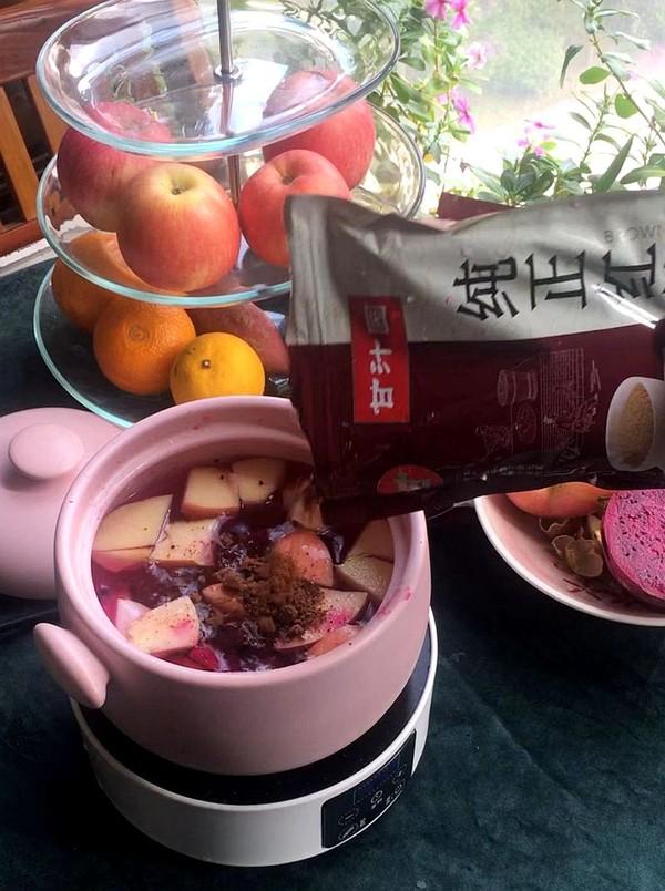 红糖水果茶的家常做法