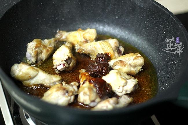 香辣板栗鸡肉煲的步骤