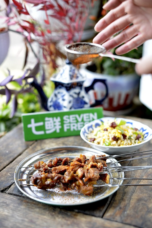 烤牛腩串怎么煮