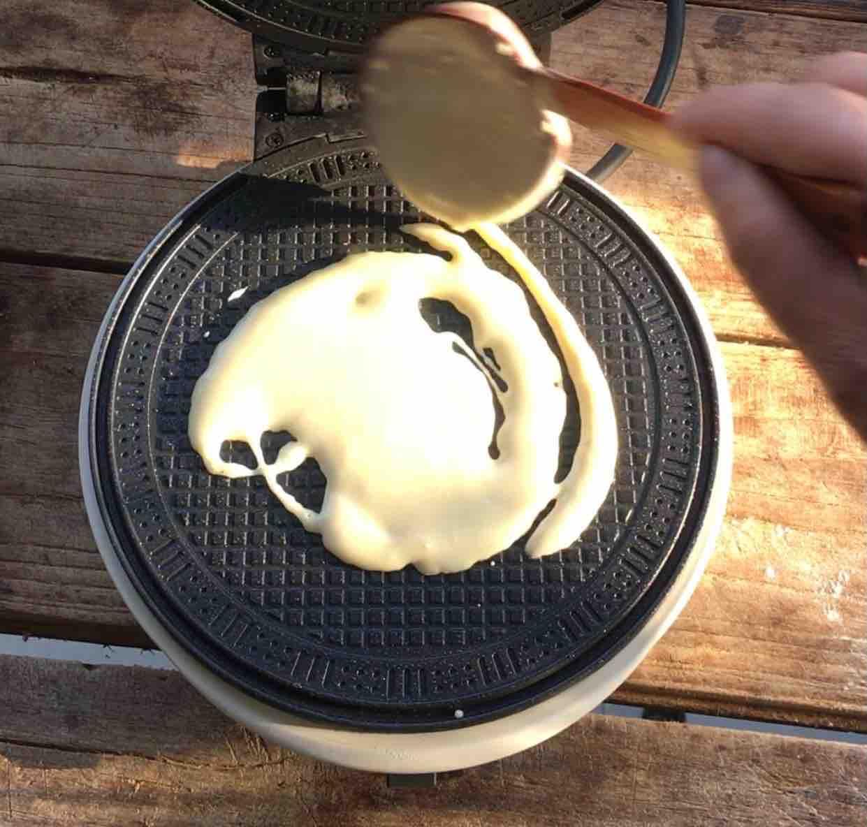 香脆蛋卷的步骤