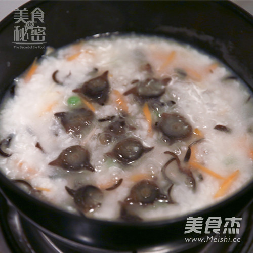 大米海参粥怎么吃
