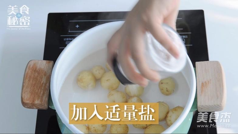 香煎小土豆的简单做法
