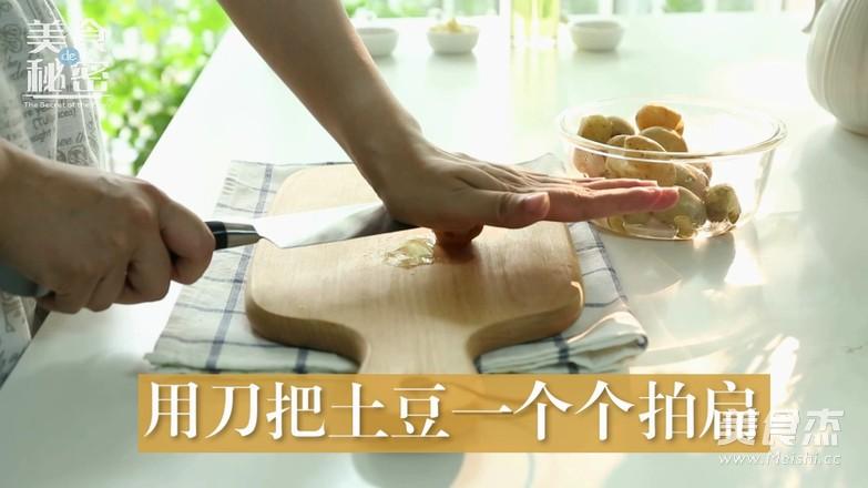 香煎小土豆怎么炖