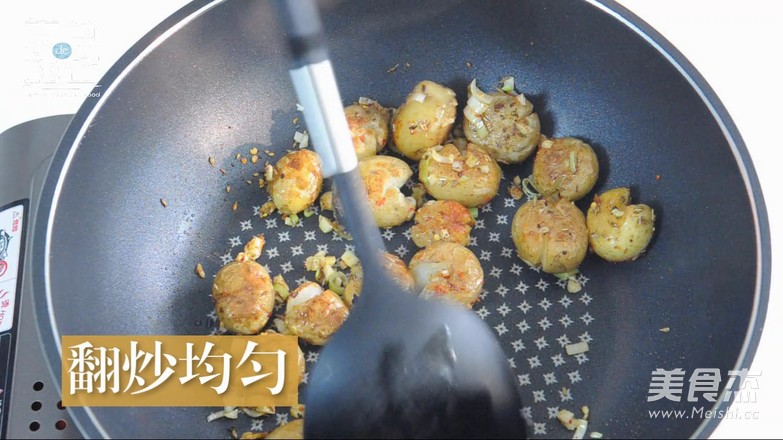 香煎小土豆的制作