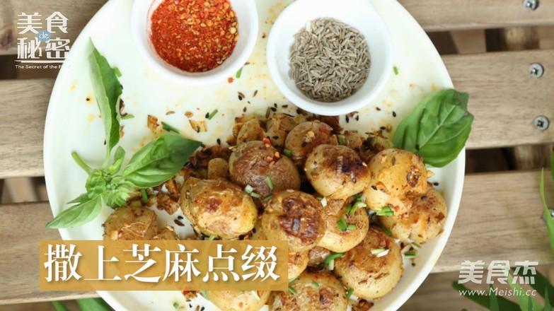 香煎小土豆的制作方法