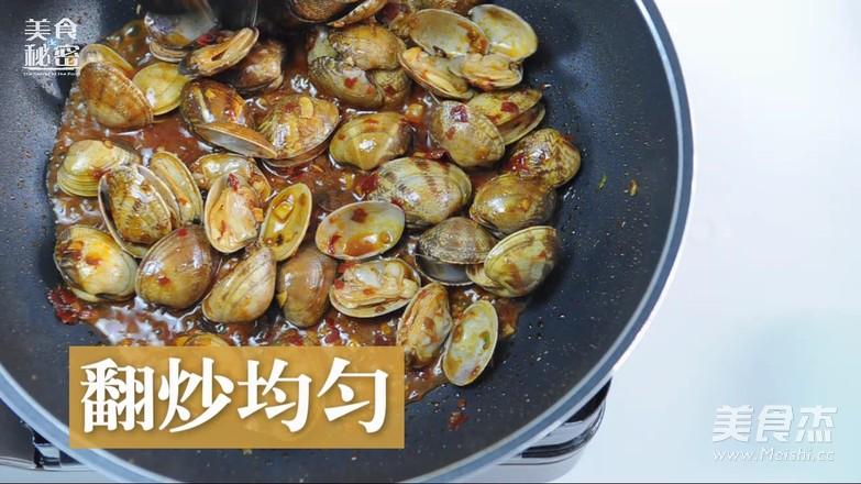 辣炒花蛤怎样做