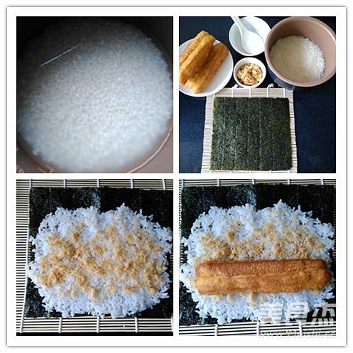 海苔粢饭卷的做法大全