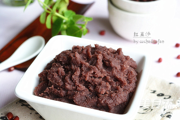 自制红豆沙成品图