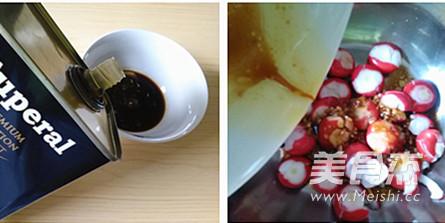 橄榄油拌樱桃小萝卜的家常做法