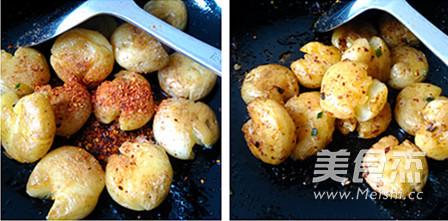 橄榄油香煎小土豆的家常做法